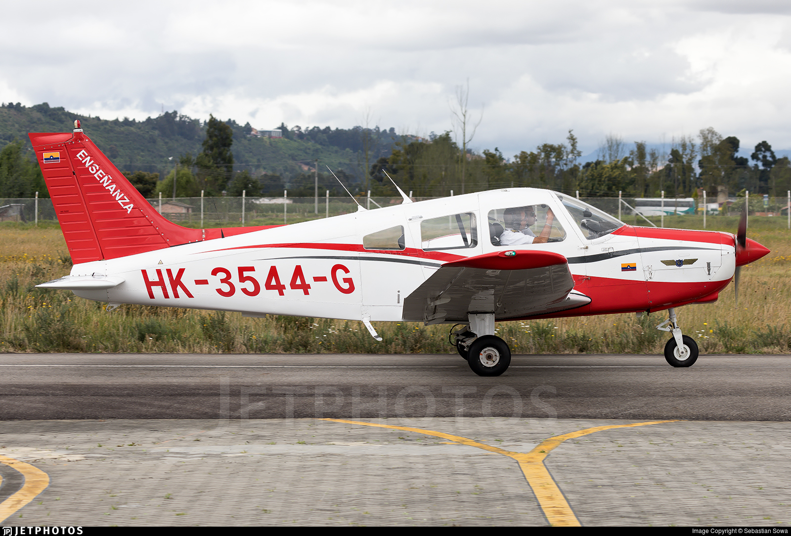 HK-3544-G - Piper PA-28-161 Warrior II - Aero Club - Colombia