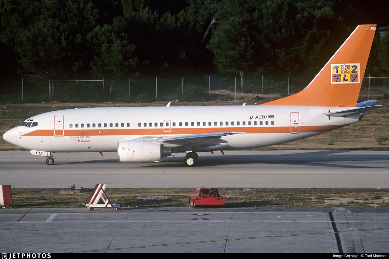 D-AGEO - Boeing 737-75B - Germania