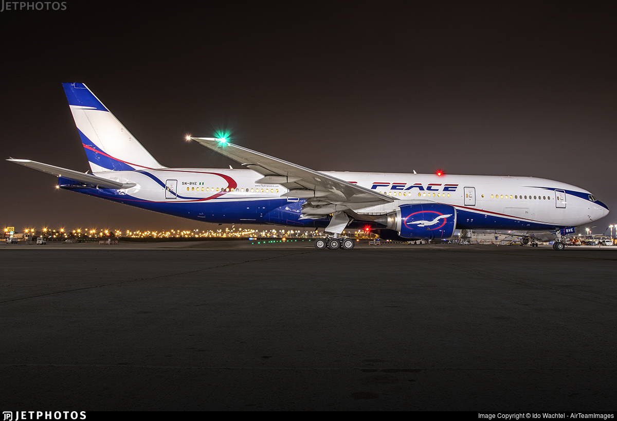 5N-BVE - Boeing 777-21H - Air Peace