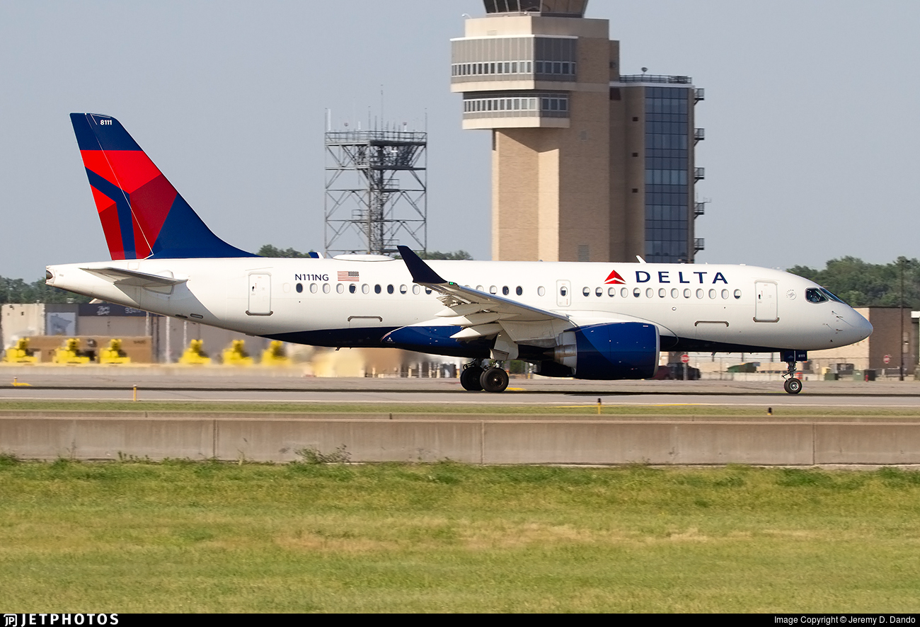 N111NG - Airbus A220-171 - Delta Air Lines