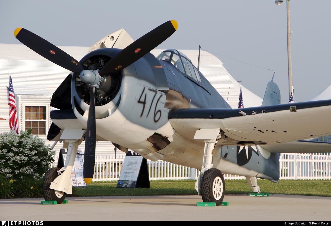 NX41476 - Grumman F6F-3 Hellcat - Collings Foundation