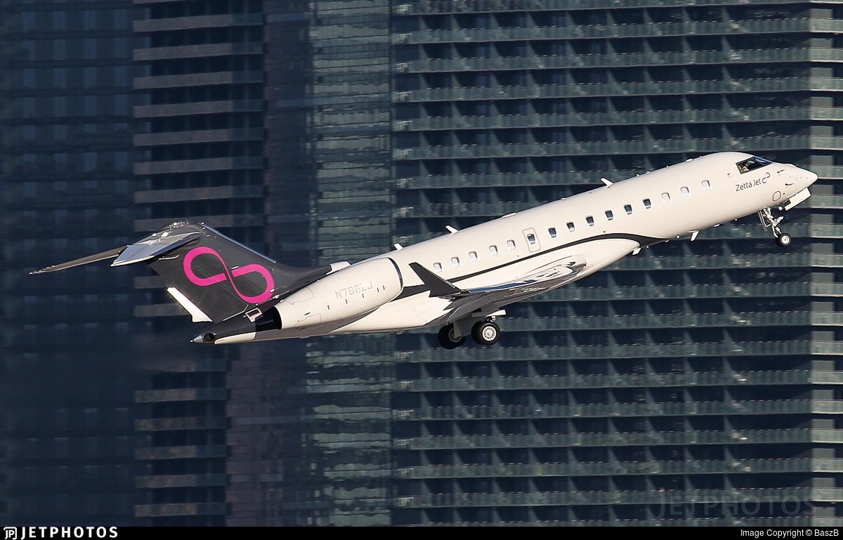 N788ZJ - Bombardier BD-700-1A10 Global 6000 - Private