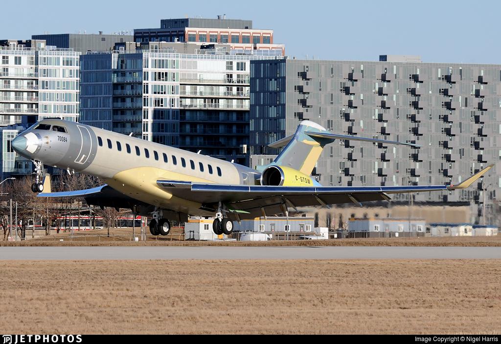 C-GTSW - Bombardier BD-700-2A12 Global 7500  - Bombardier Aerospace