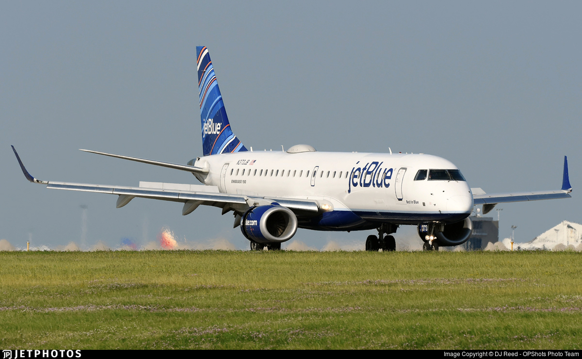 N373JB - Embraer 190-100IGW - jetBlue Airways