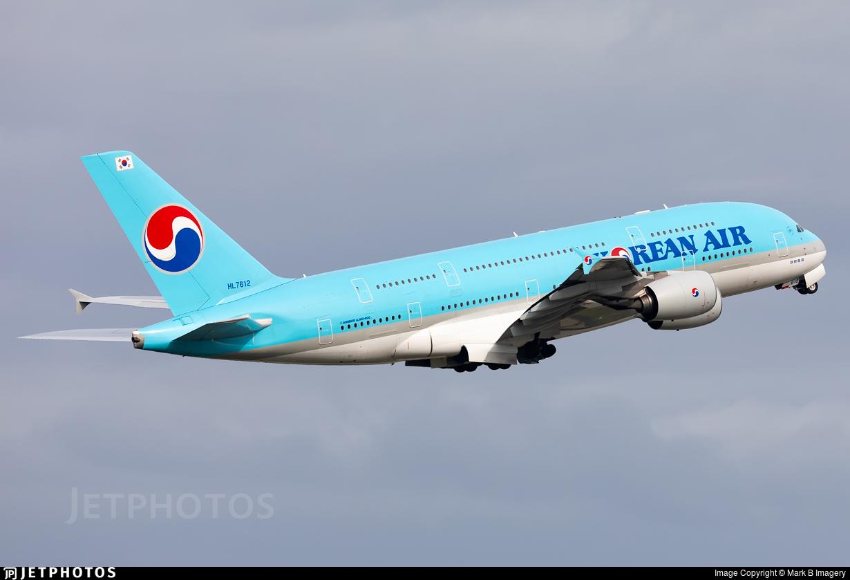 HL7612 - Airbus A380-861 - Korean Air