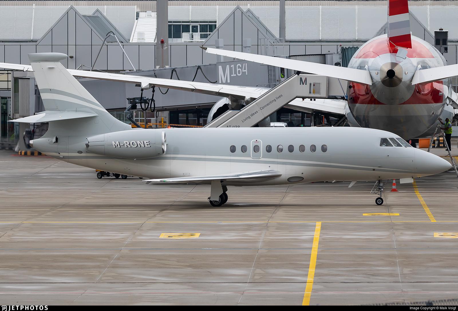 M-RONE - Dassault Falcon 2000EX - Ocean Sky Aviation