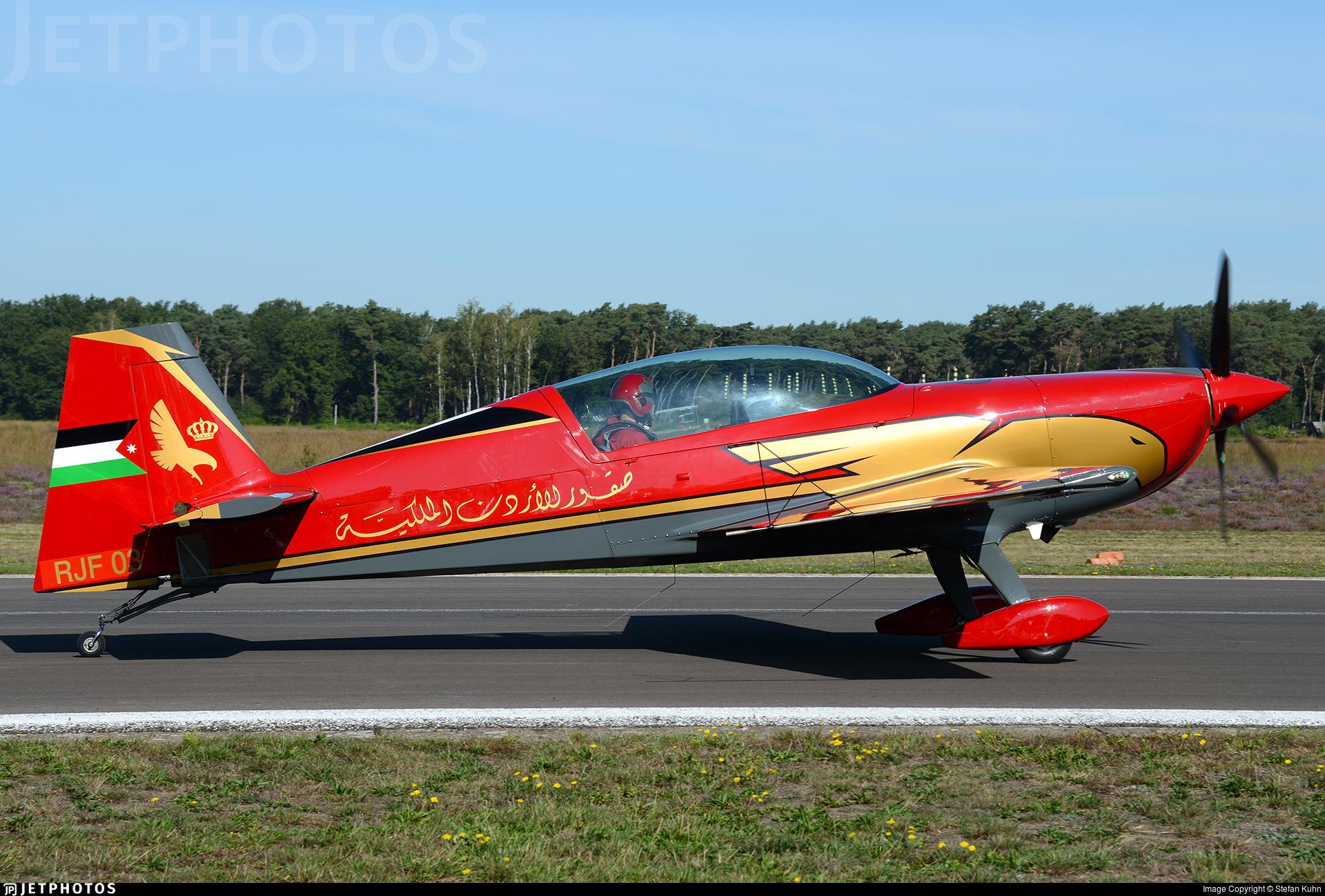 RJF 03 - Extra 330LX - Royal Jordanian Falcons