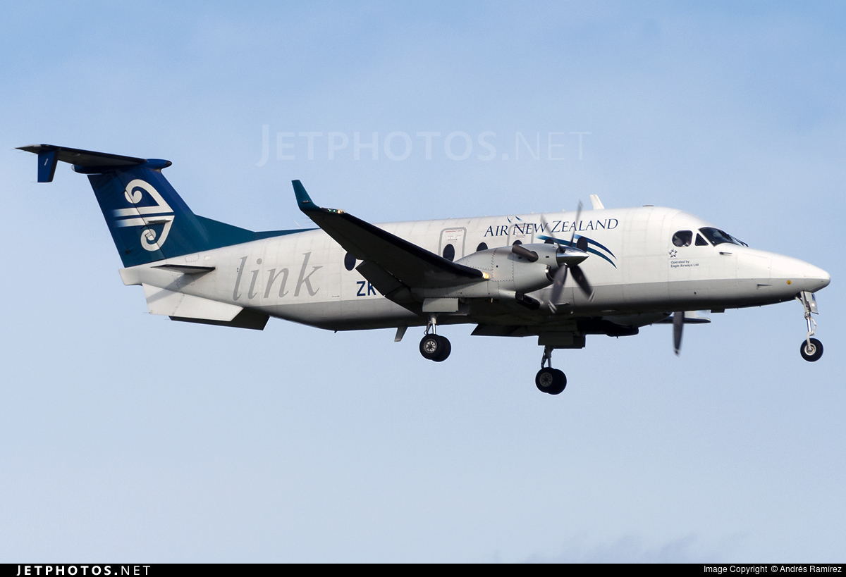 ZK-EAN - Beech 1900D - Air New Zealand Link (Eagle Airways)