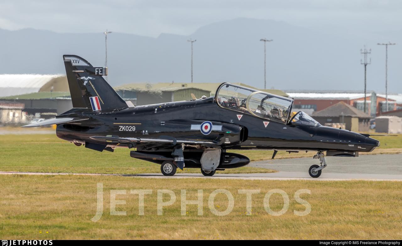 ZK029 - British Aerospace Hawk T.2 - United Kingdom - Royal Air Force (RAF)