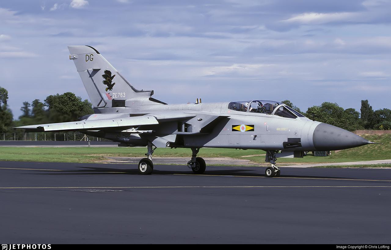 ZE763 - Panavia Tornado F.3 - United Kingdom - Royal Air Force (RAF)