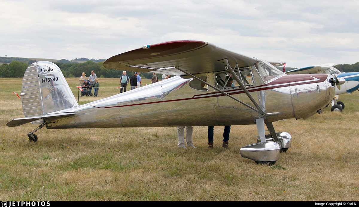 N76249 - Cessna 120 - Private