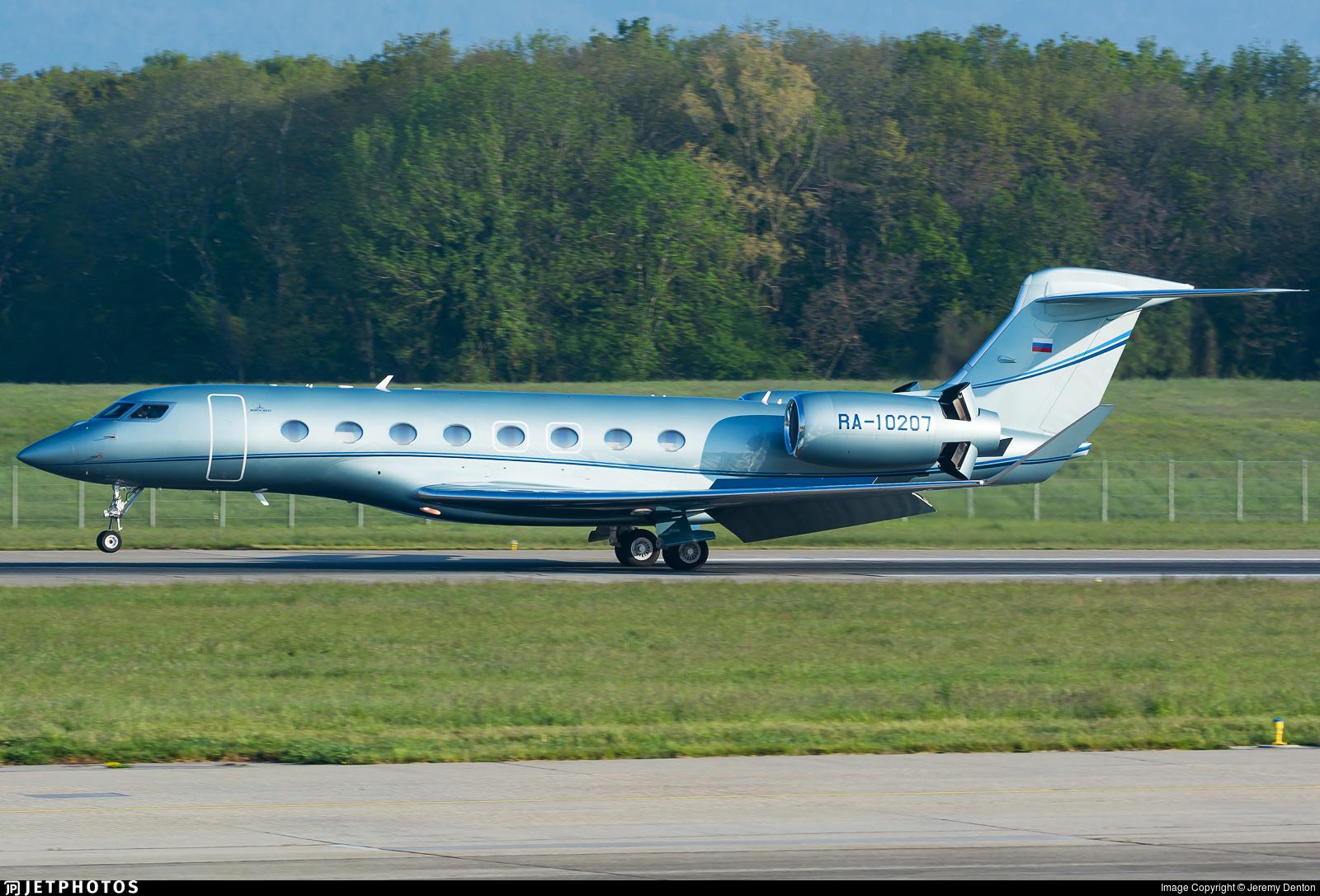 RA-10207 - Gulfstream G650 - Private