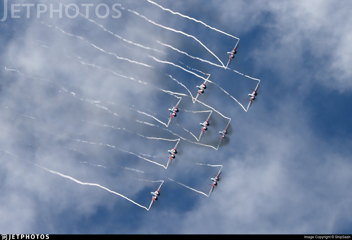 RF-92283 - Mikoyan-Gurevich MiG-29UB Fulcrum B - Russia - Air Force