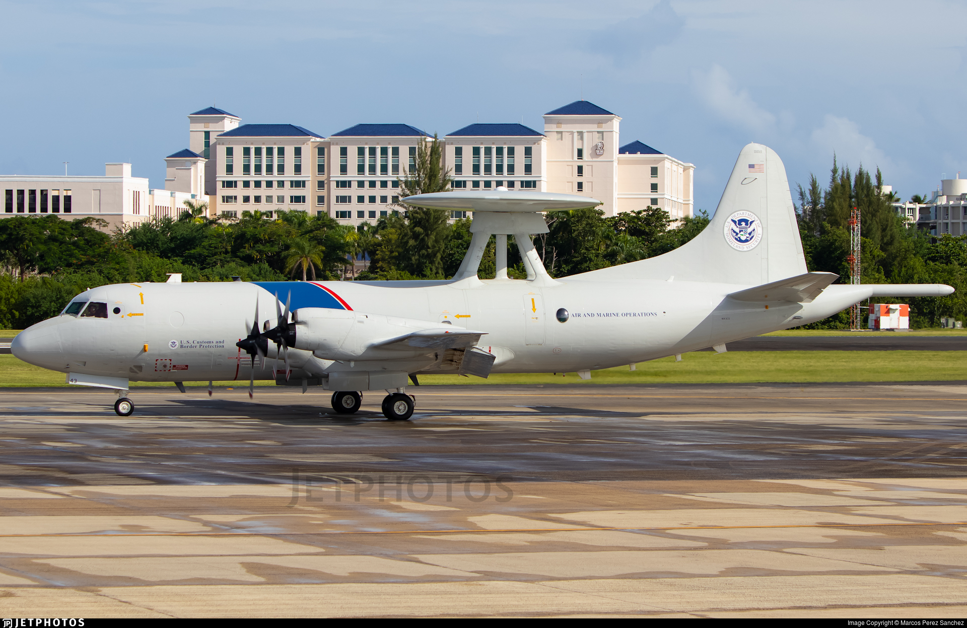 N143CS - Lockheed P-3B Orion AEW - United States - US Customs Service