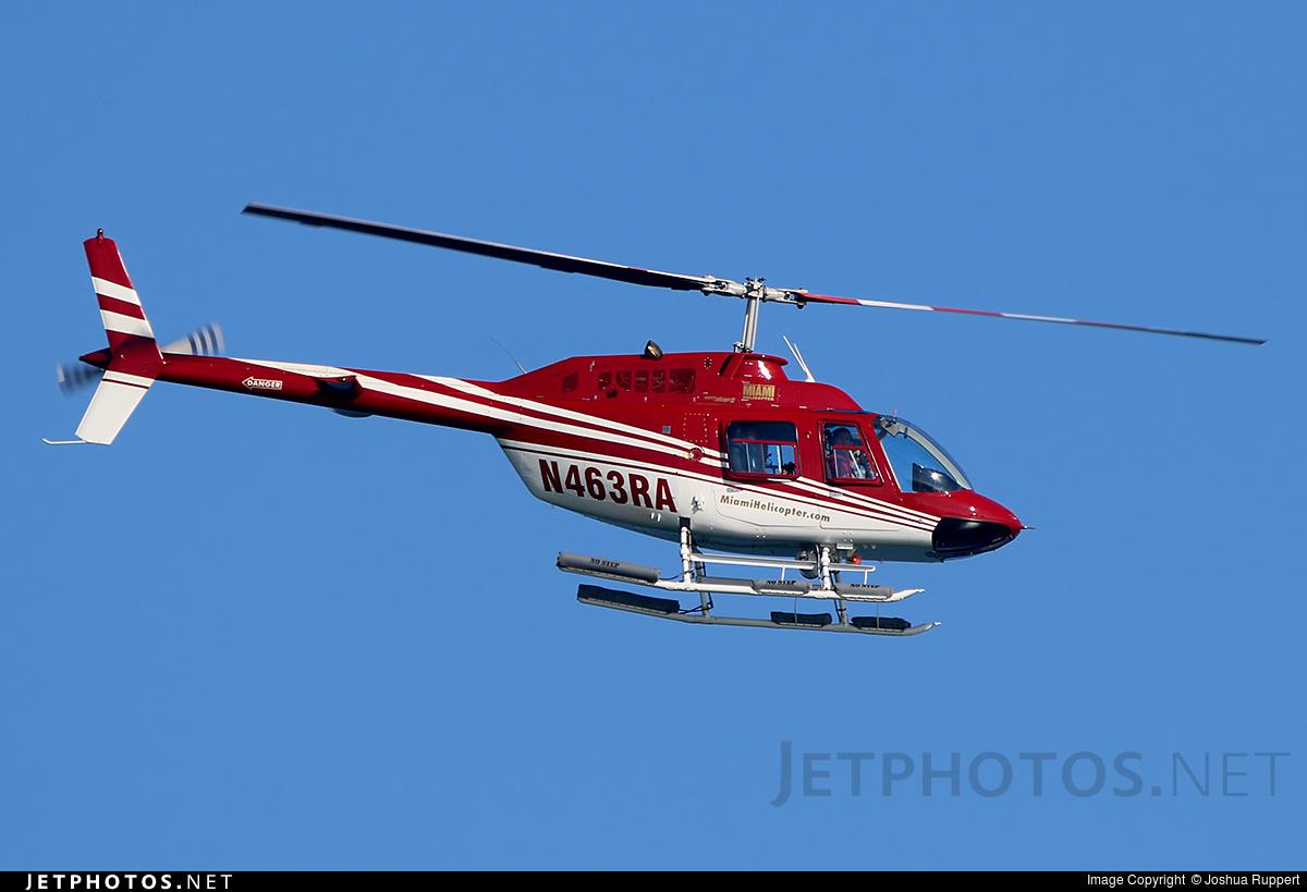 N463RA - Bell 206B JetRanger II - Private