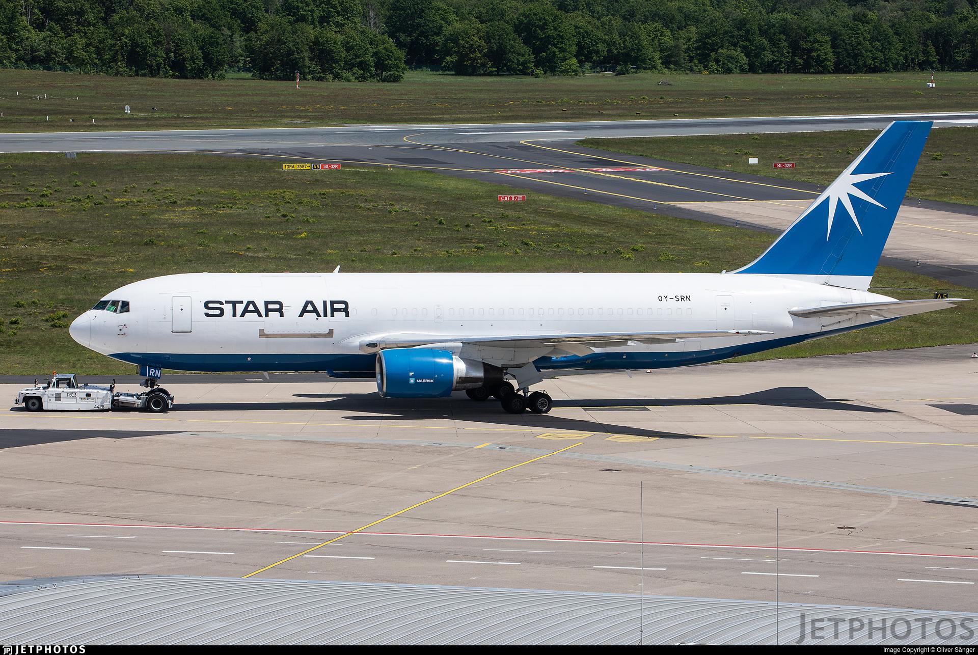 OY-SRN - Boeing 767-219(ER)(BDSF) - Star Air