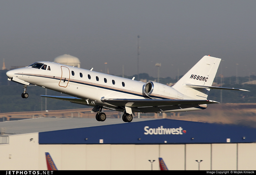 N680RC - Cessna 680 Citation Sovereign - Private