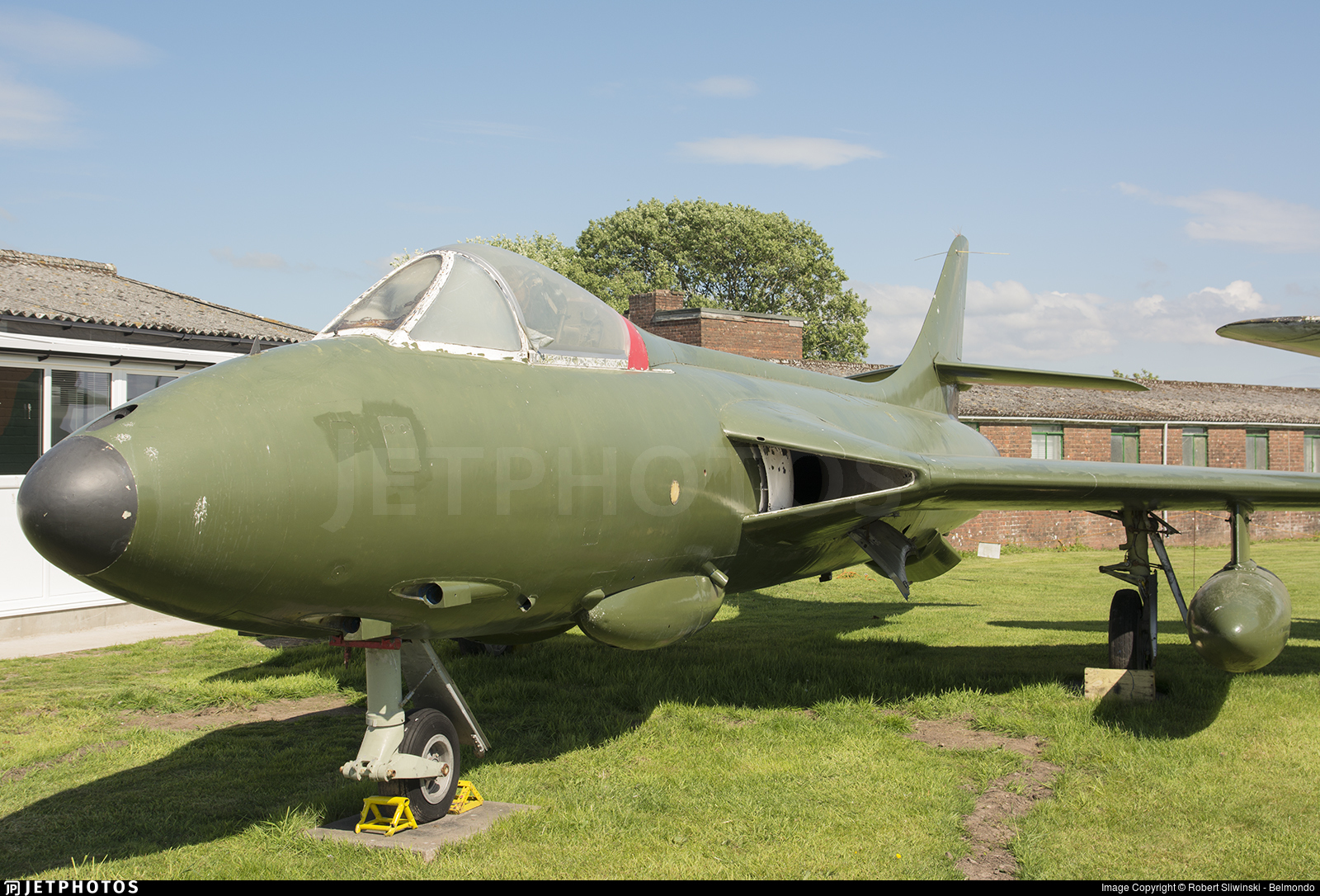 E-425 - Hawker Hunter F.51 - Denmark - Air Force