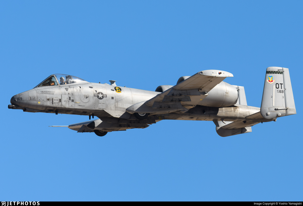 79-0169 - Fairchild A-10C Thunderbolt II - United States - US Air Force (USAF)