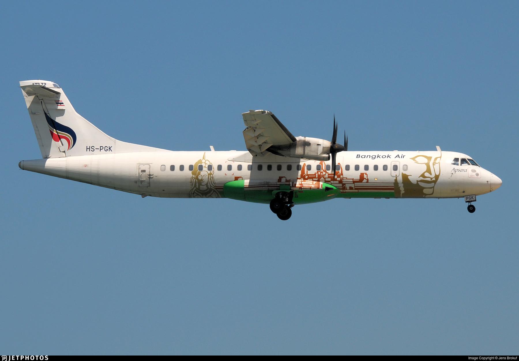 HS-PGK - ATR 72-212A(500) - Bangkok Airways