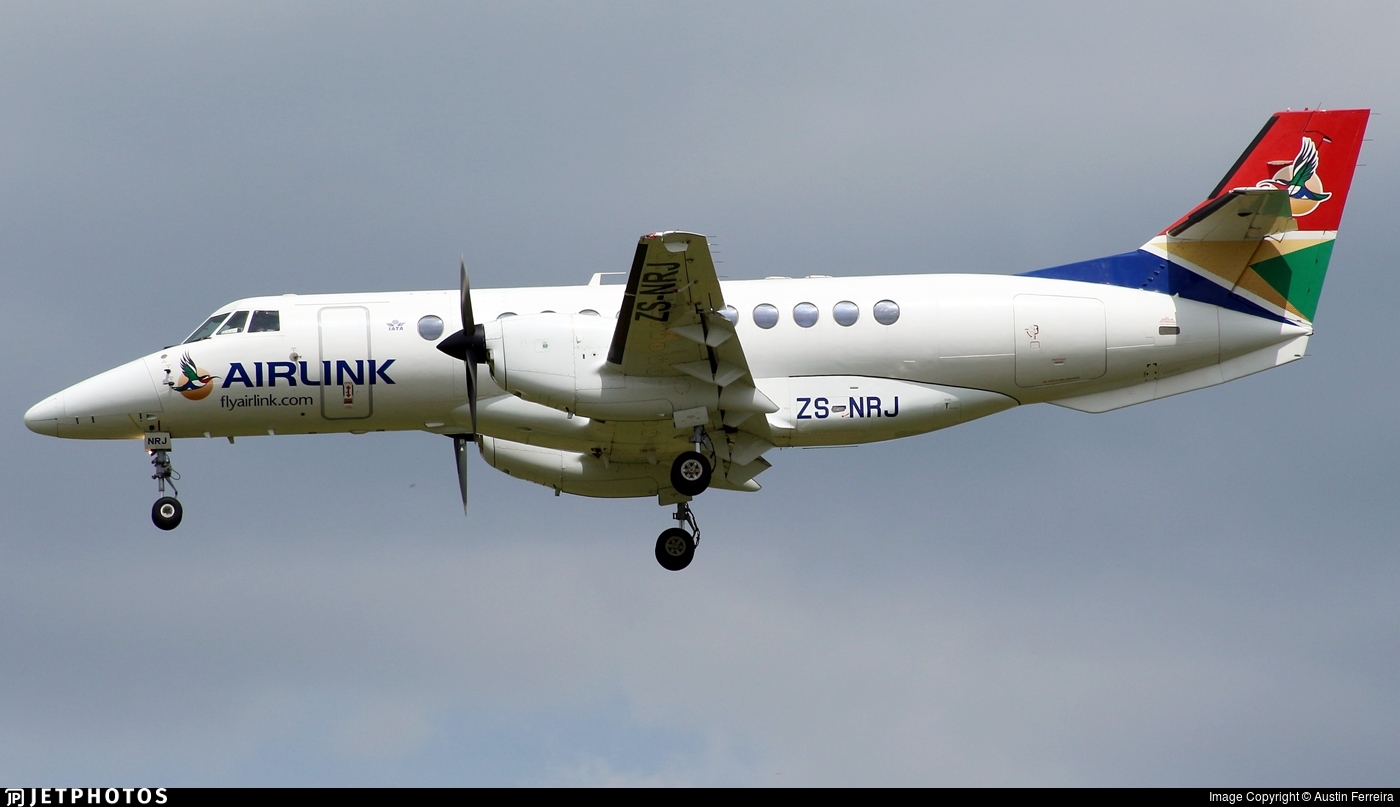 ZS-NRJ - British Aerospace Jetstream 41 - Airlink