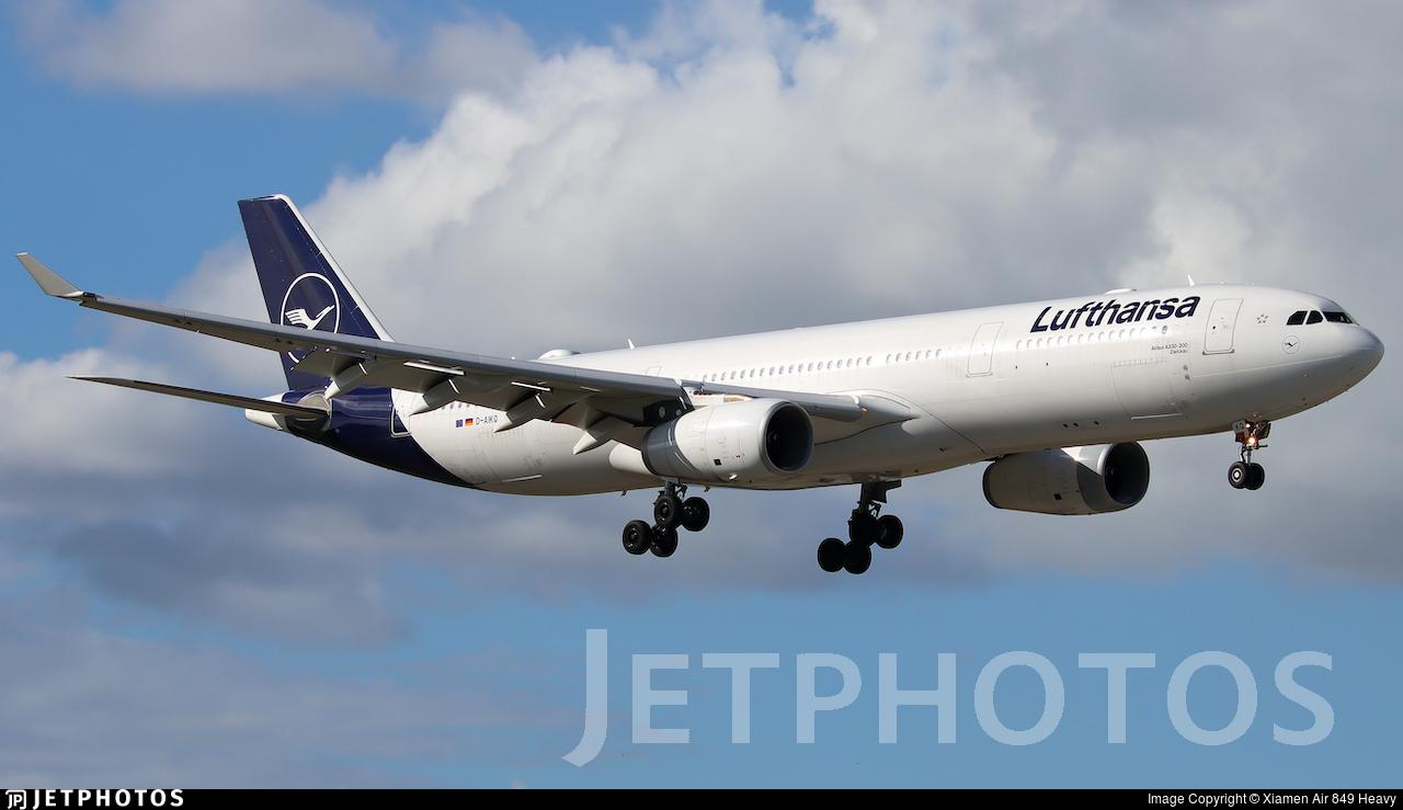 D-AIKQ - Airbus A330-343 - Lufthansa