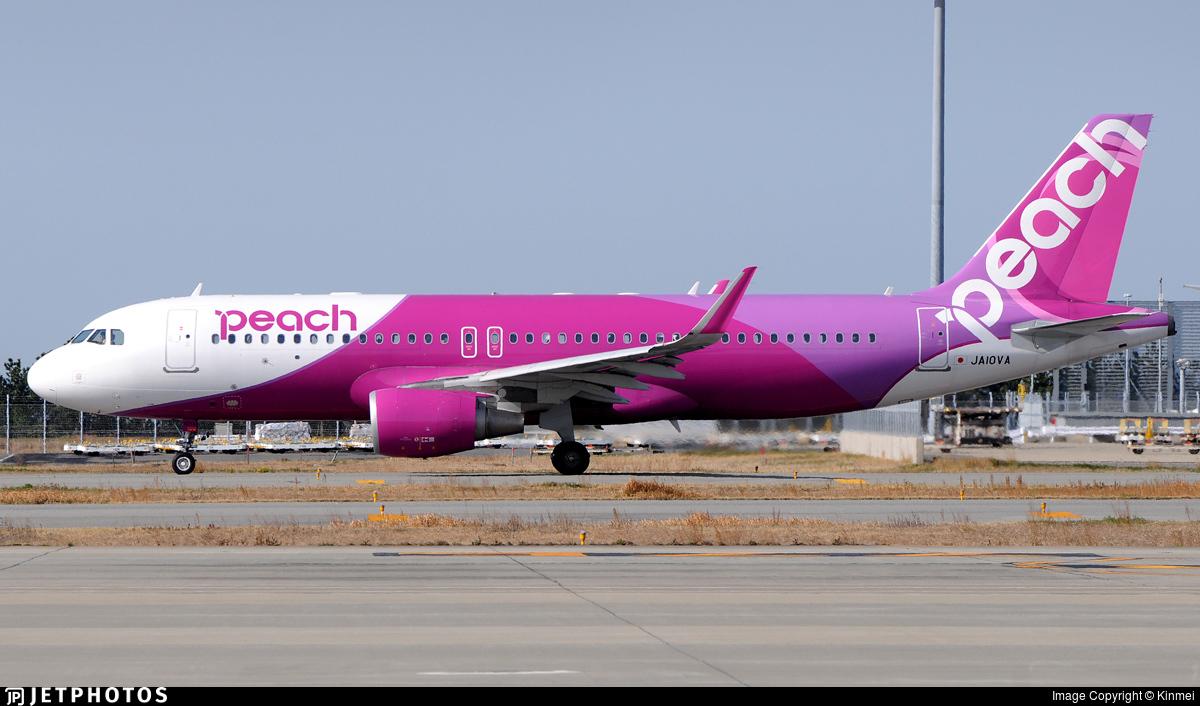 JA10VA - Airbus A320-214 - Peach Aviation