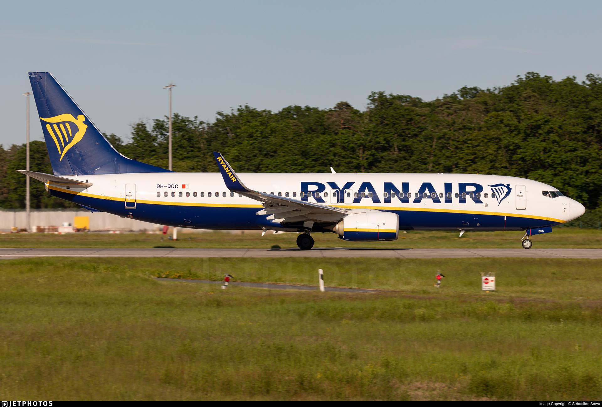 9H-QCC - Boeing 737-8AS - Ryanair (Malta Air)