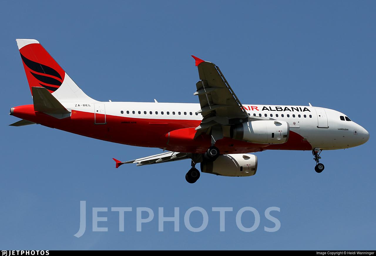 ZA-BEL - Airbus A319-132 - Air Albania