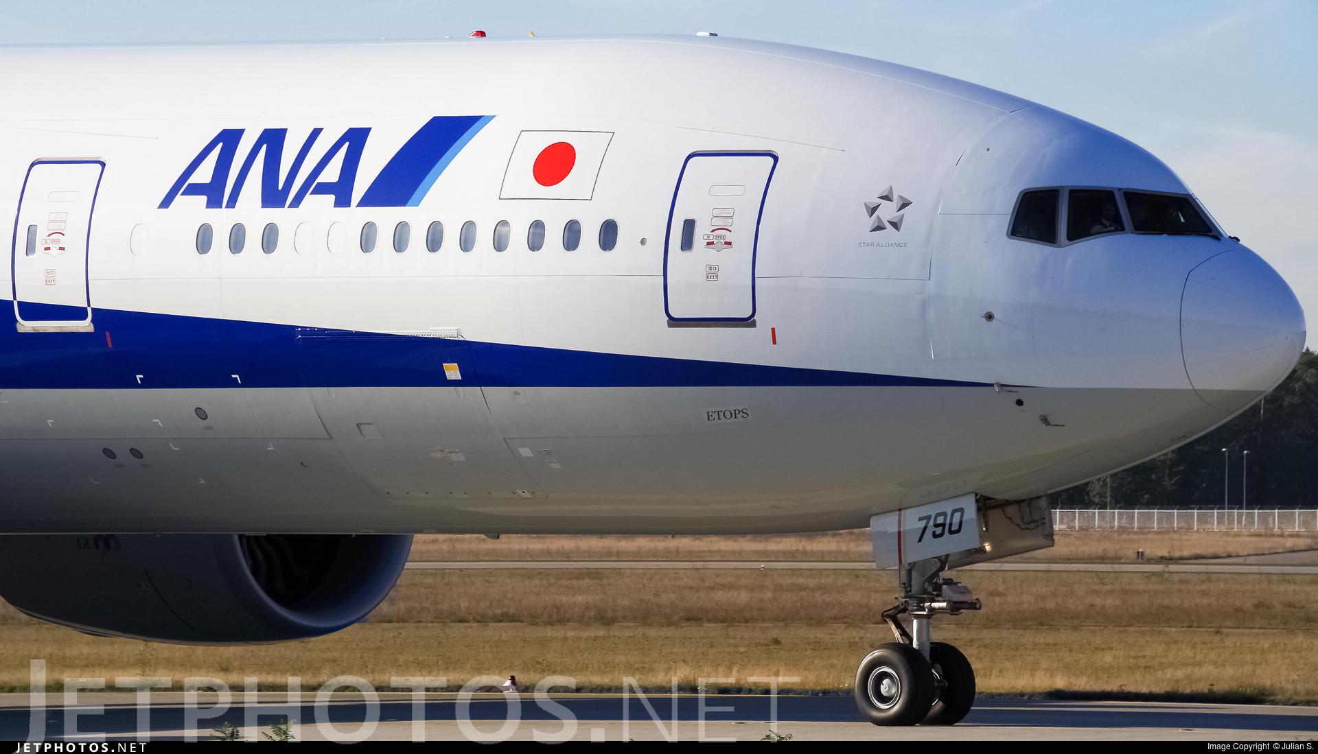 JA790A - Boeing 777-381ER - All Nippon Airways (ANA)