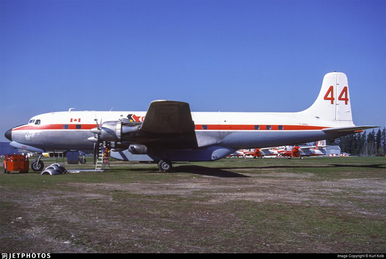 C-GHCA - Douglas DC-6B - Conair Aviation