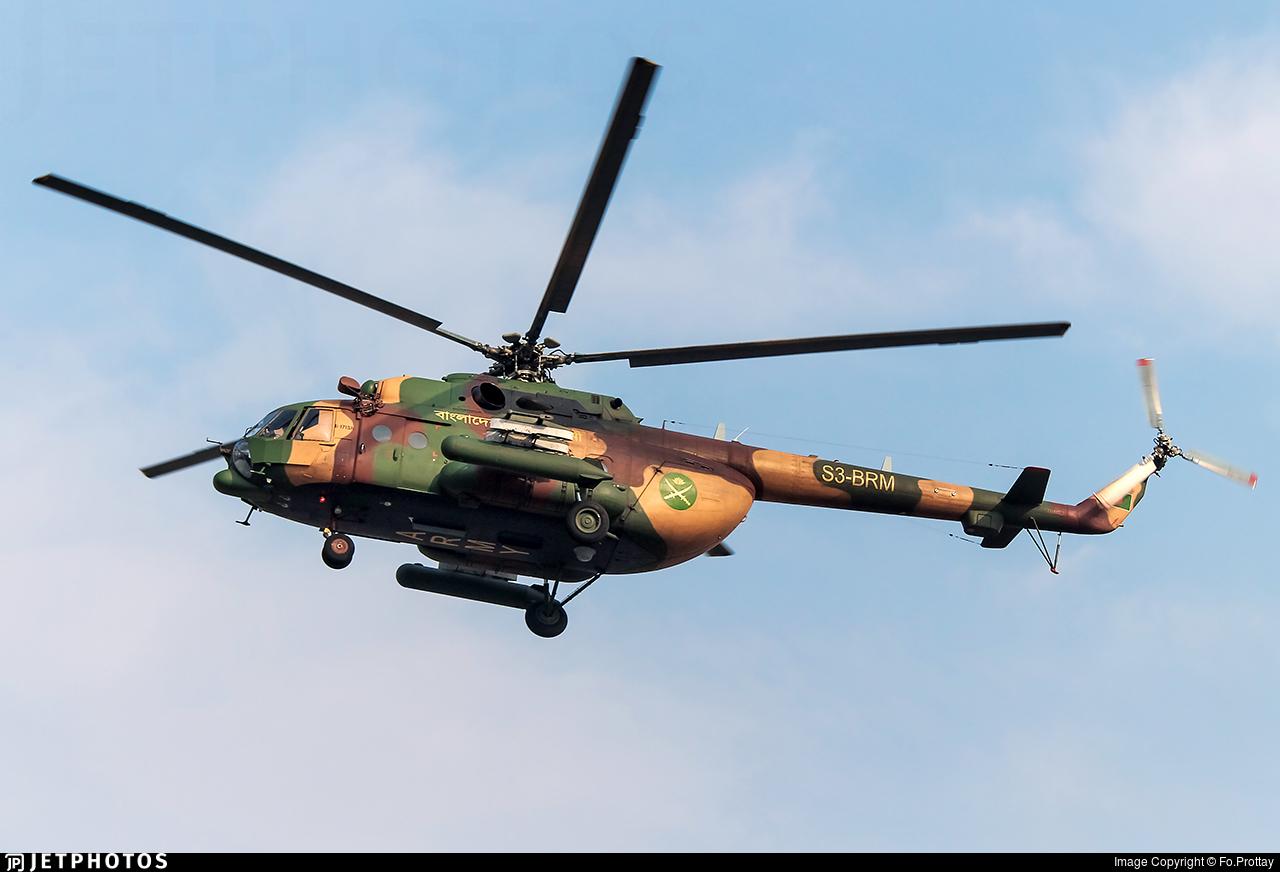 S3-BRM - Mil Mi-171Sh Baikal - Bangladesh - Army Aviation