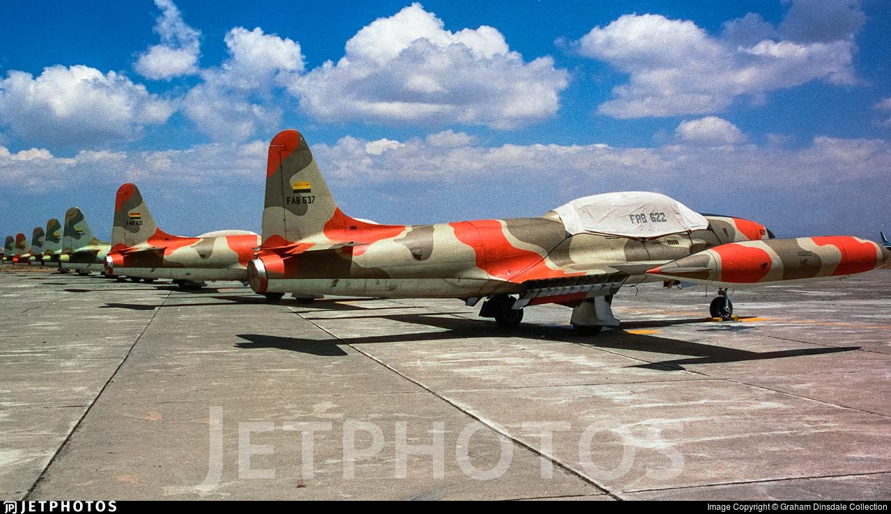 FAB-637 - Lockheed T-33A Shooting Star - Bolivia - Air Force