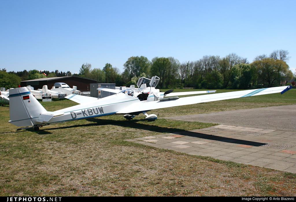 D-KBUW - Scheibe SF.25C Falke - Private
