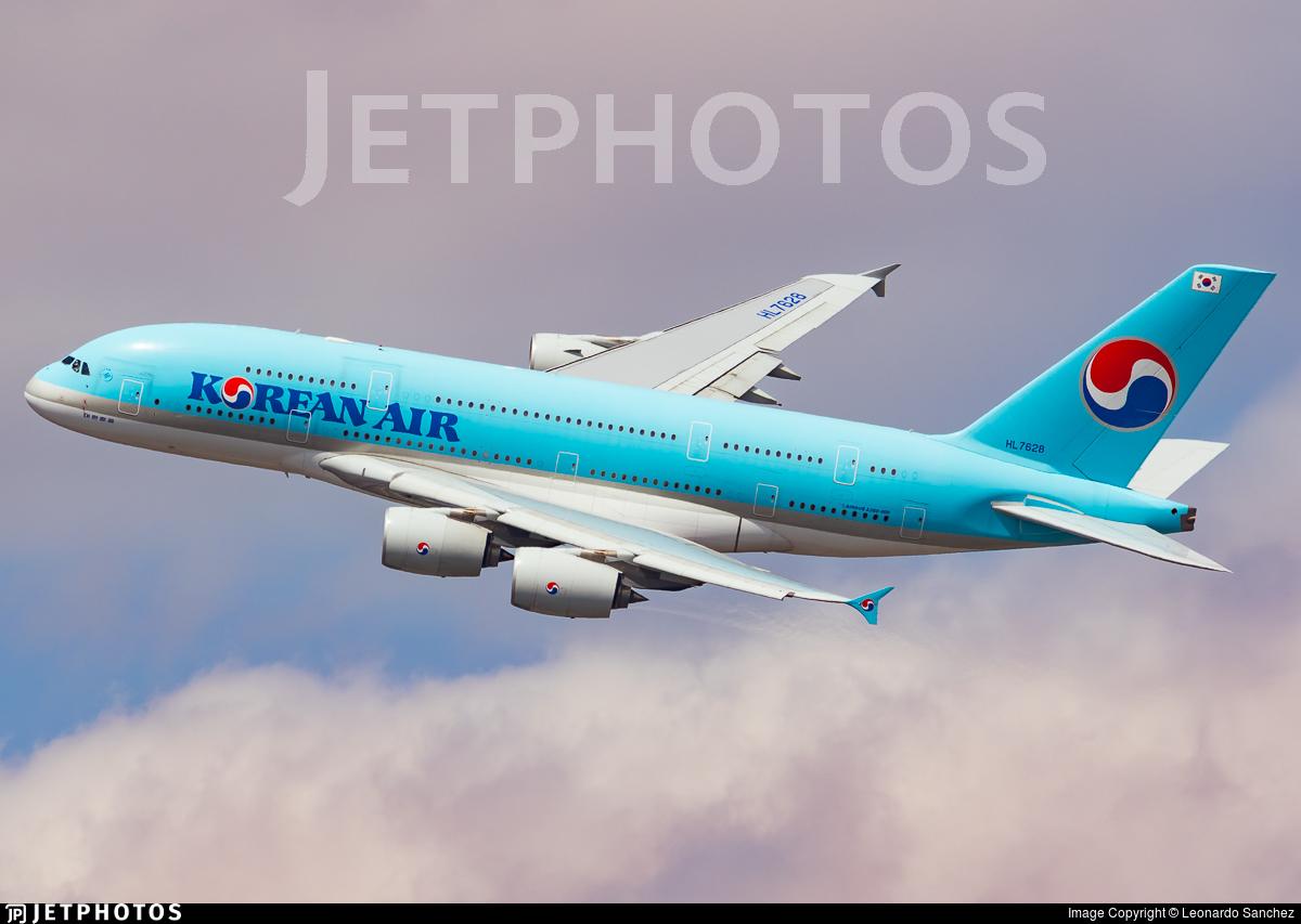 HL7628 - Airbus A380-861 - Korean Air