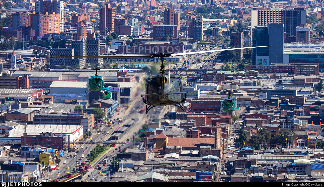 PNC-0720 - Bell UH-1H Huey II - Colombia - Police