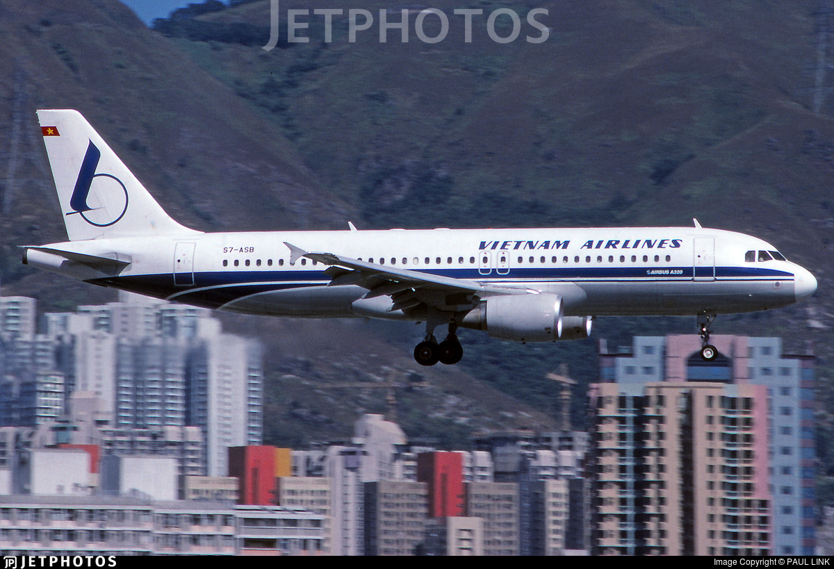 S7-ASB - Airbus A320-214 - Vietnam Airlines