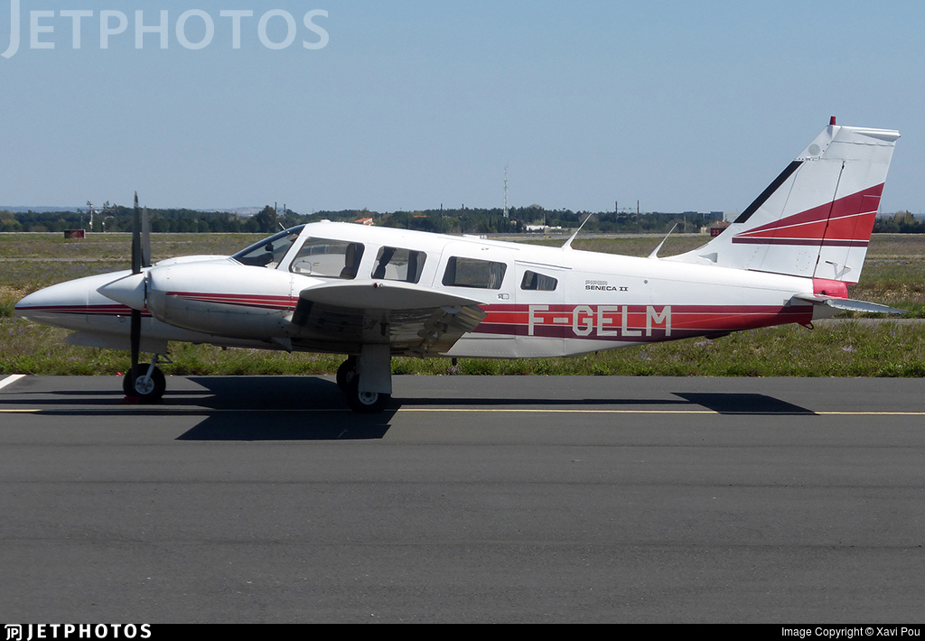 F-GELM - Piper PA-34-200T Seneca II - Private