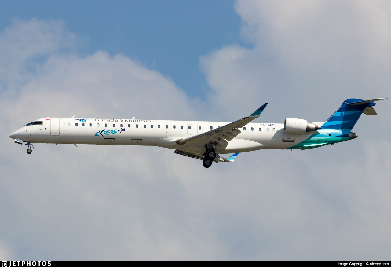 PK-GRR - Bombardier CRJ-1000ER - Garuda Indonesia Explore Jet