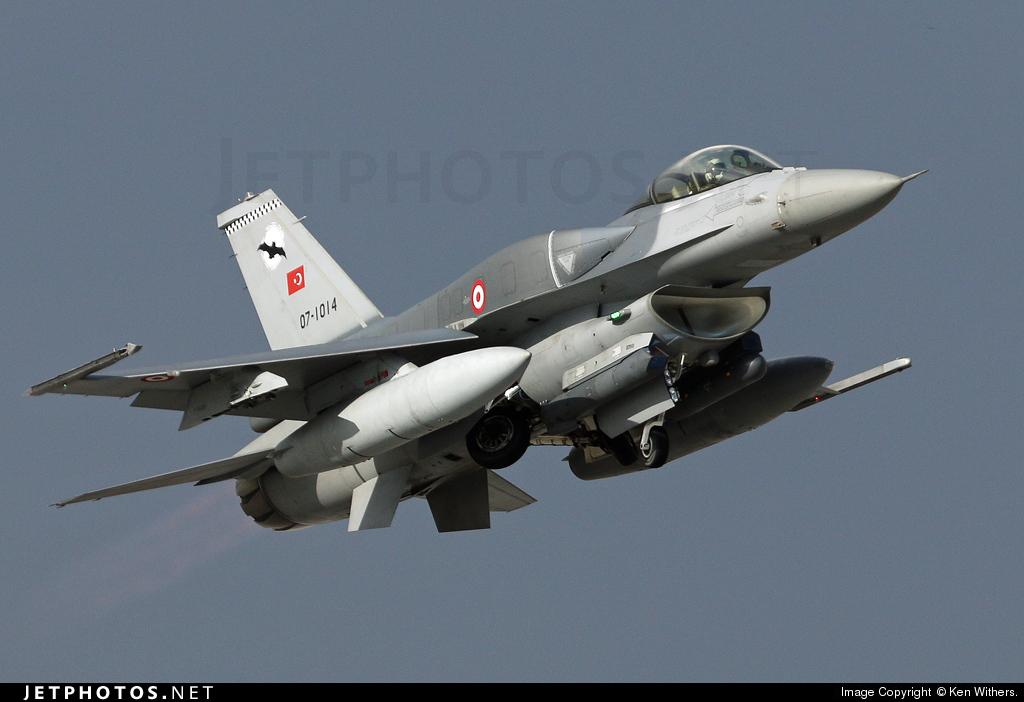 07-1014 - Lockheed Martin F-16CJ Fighting Falcon - Turkey - Air Force