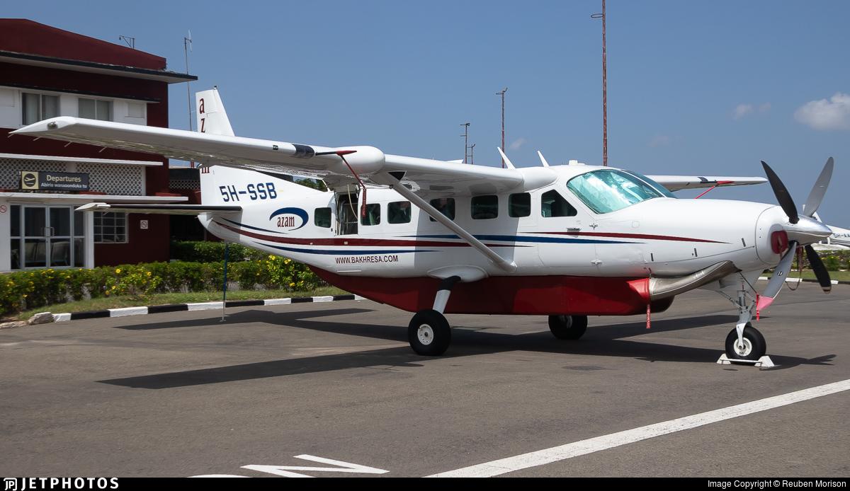 5H-SSB - Cessna 208B Grand Caravan EX - Private