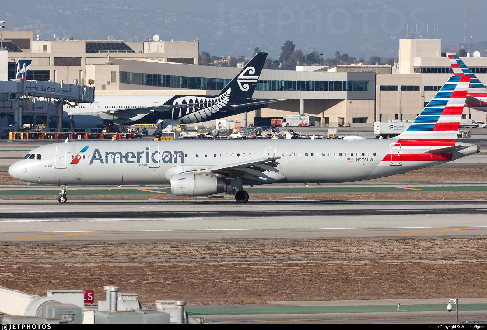 N576UW - Airbus A321-231 - American Airlines