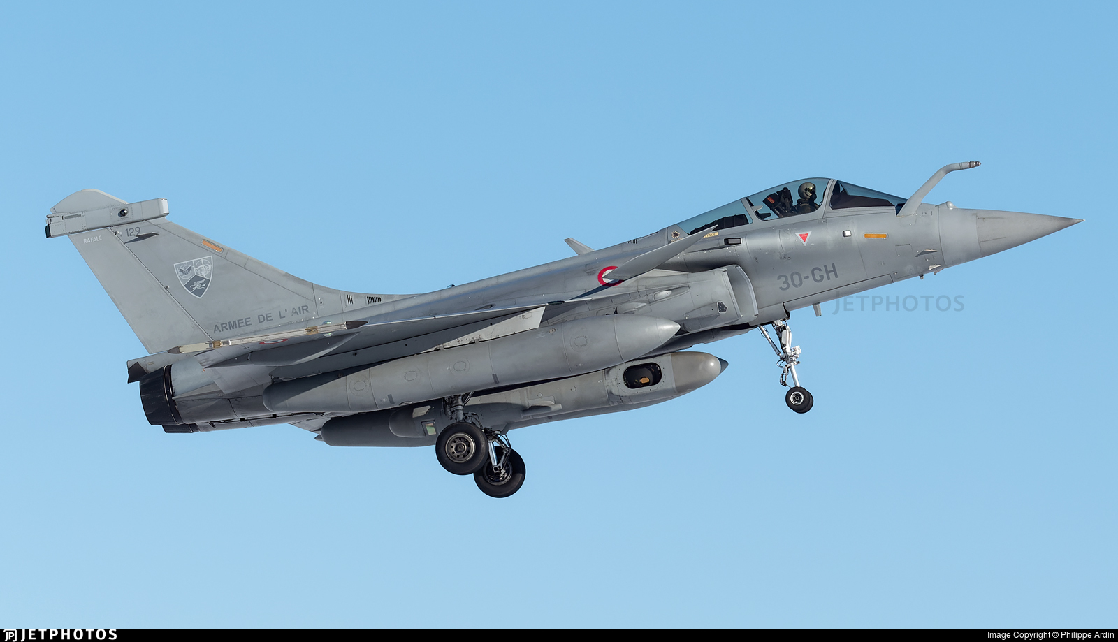 129 - Dassault Rafale C - France - Air Force