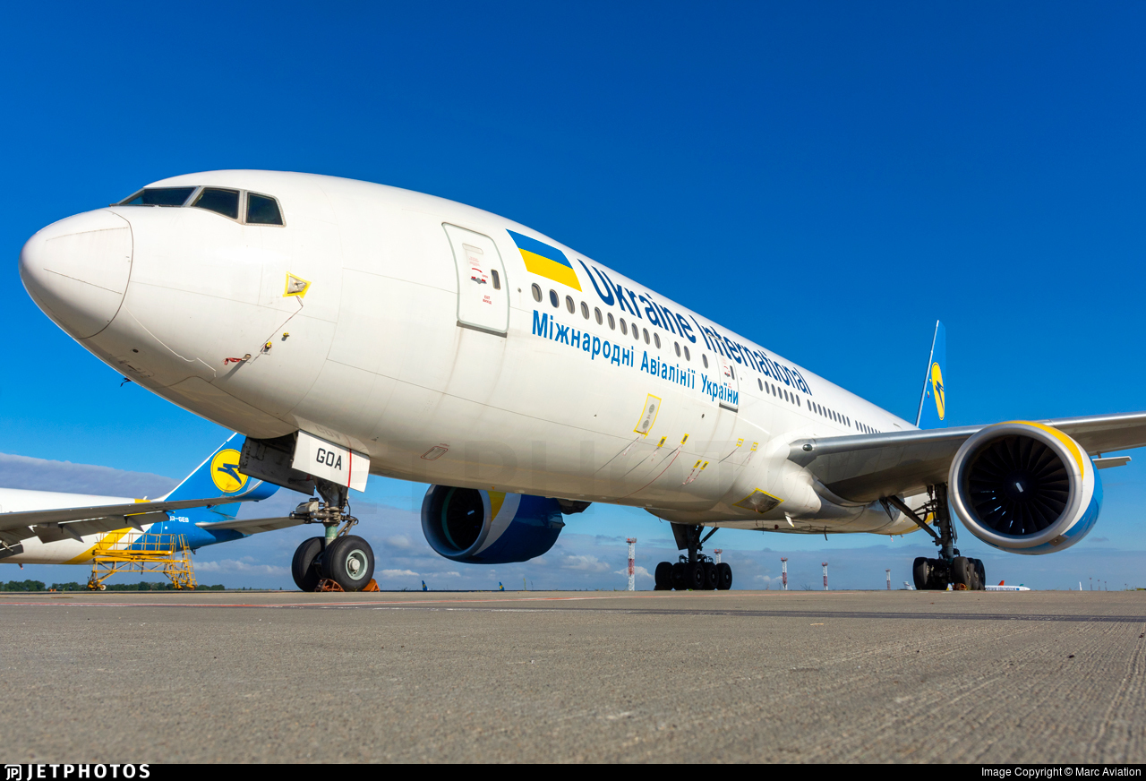 UR-GOA - Boeing 777-2Q8(ER) - Ukraine International Airlines