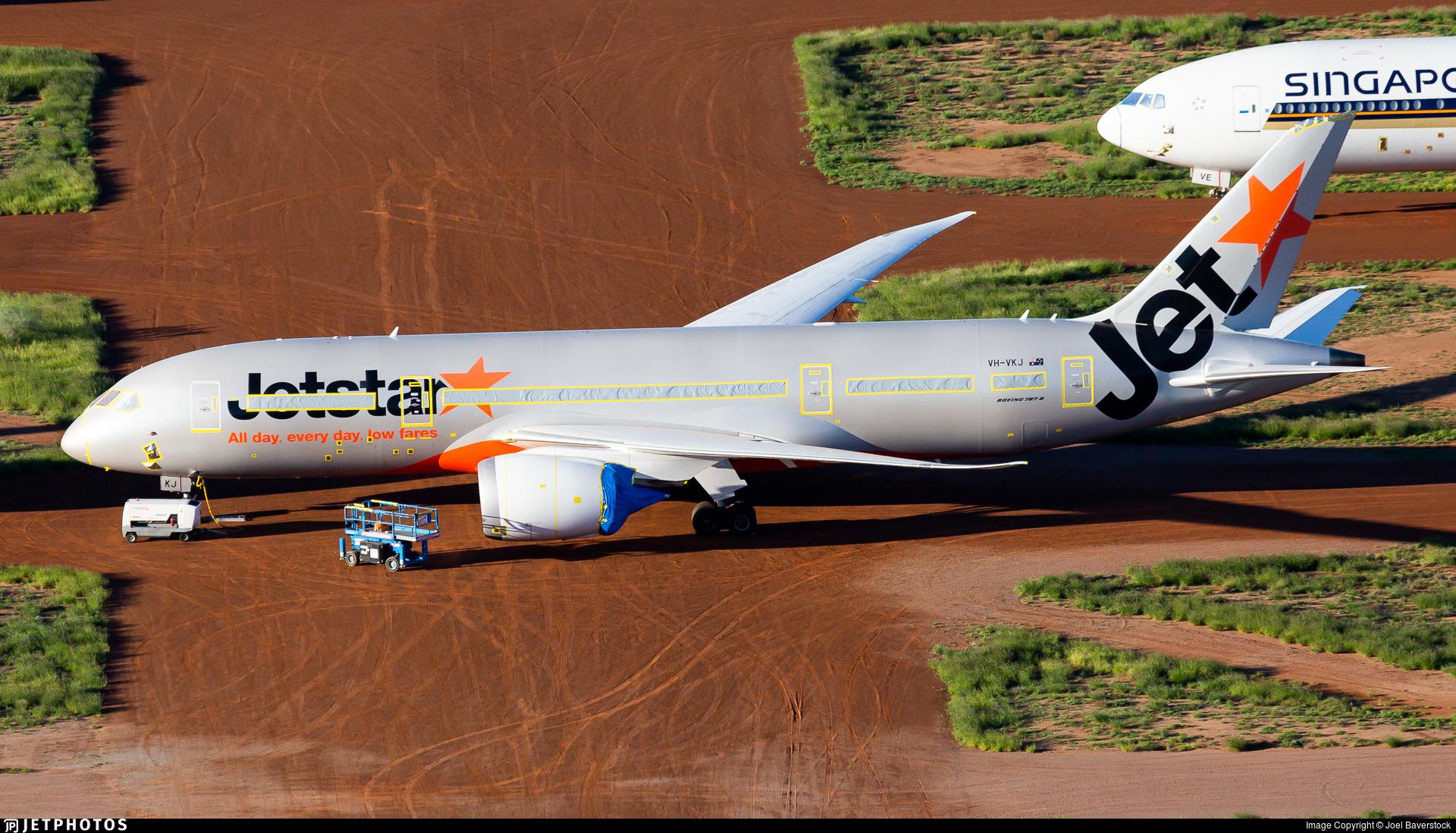VH-VKJ - Boeing 787-8 Dreamliner - Jetstar Airways