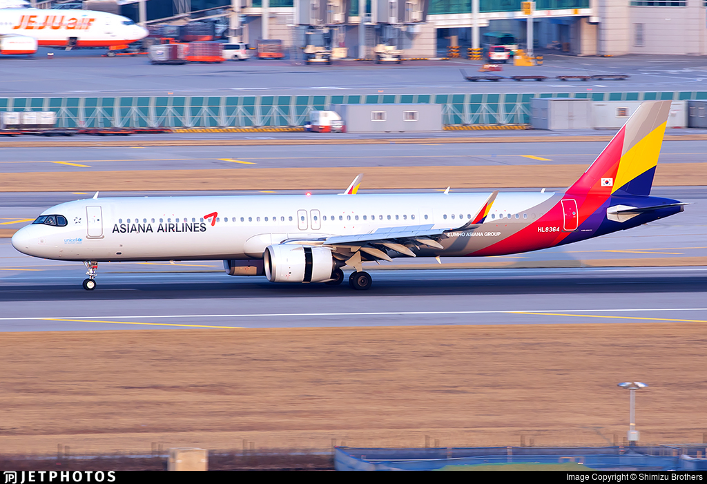HL8364 - Airbus A321-251NX - Asiana Airlines