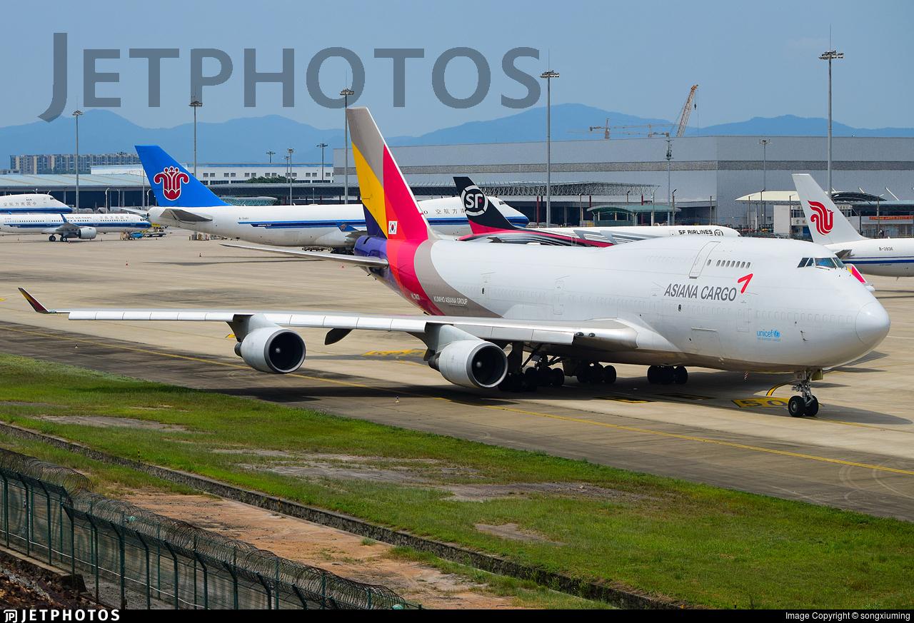 HL7413 | Boeing 747-48E(BDSF) | Asiana Cargo | songxiuming ...