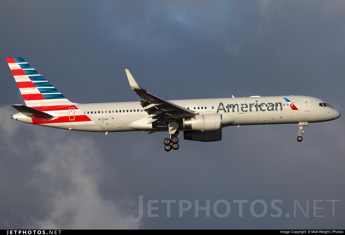 N173an Boeing 757 223 American Airlines Matt Weight