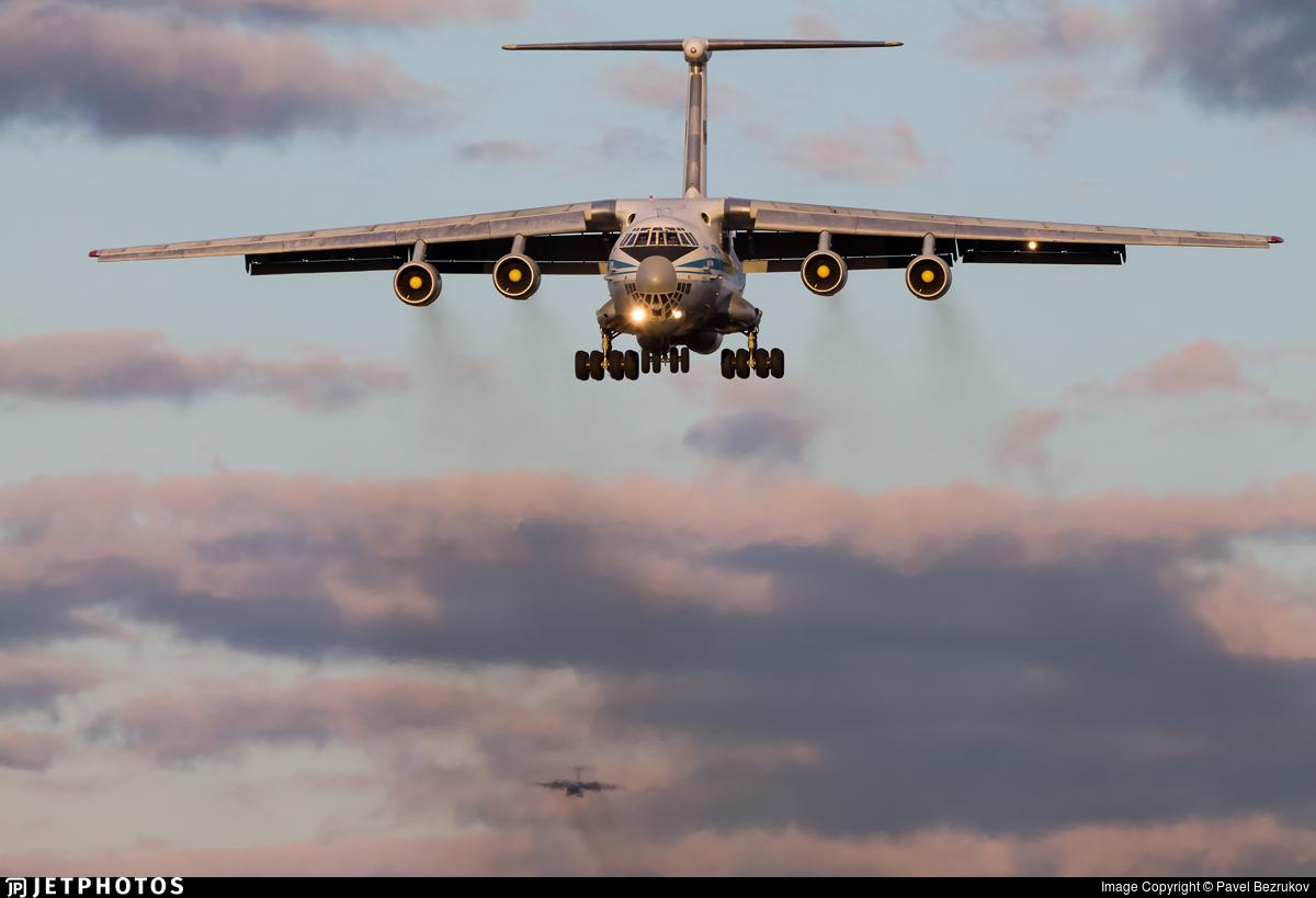 RA-86863 - Ilyushin IL-76M - Russia - Air Force