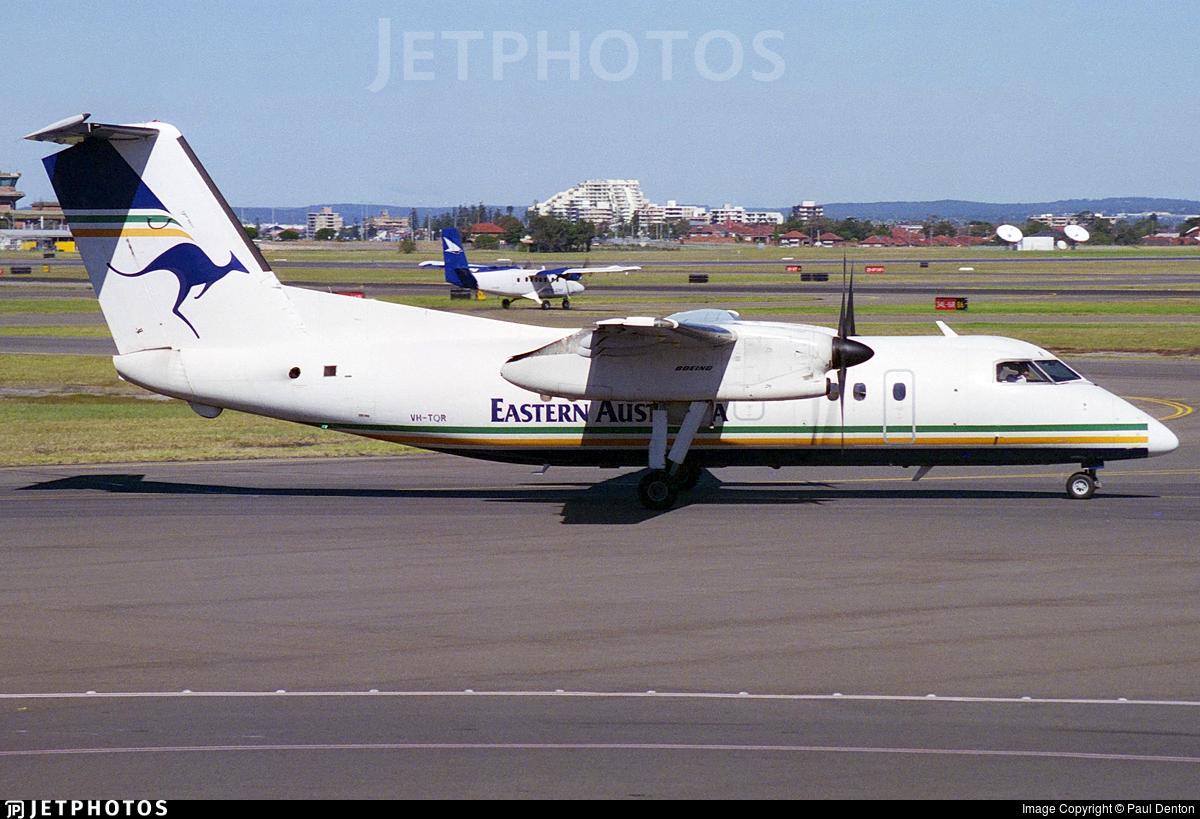 VH-TQR - Bombardier Dash 8-102 - Eastern Australia Airlines